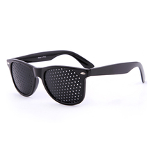 цены на Anti-myopia Pin hole Glasses Vision Care Pin hole Sunglasses Eye Exercise Improve Eyesight Natural Healing Goggles Men Women  в интернет-магазинах