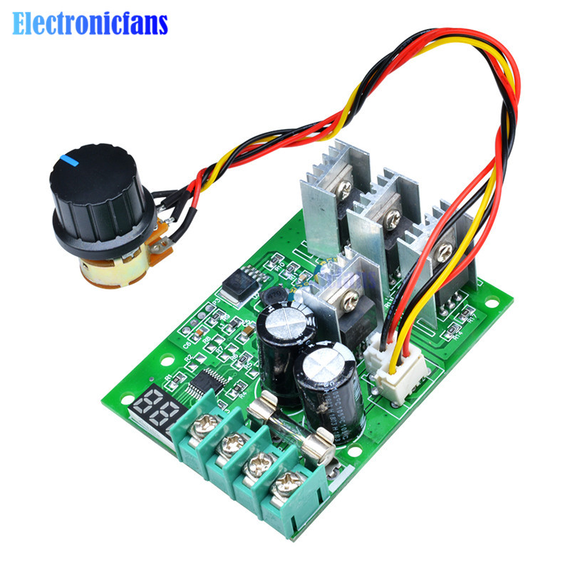 Persevering Dc6-60v 30a Digital Led Display 0~100% Adjustable Drive Module Pwm Dc Motor Speed Controller Regulator Dimmer Current Control Professional Design Integrated Circuits