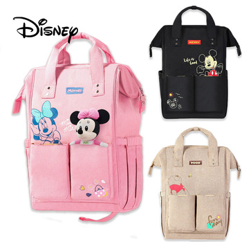 Disney USB Heating Mummy Bag Mickey Mouse Winnie The Pooh Mother Baby Care Bag Insulation Multi-function Pregnant Women Bags