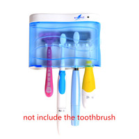 New Ultraviolet Uv Ozone Sonic Electric Toothbrush Sterilizer For Sterilization Wall Mounted Case Brush Holder Creative