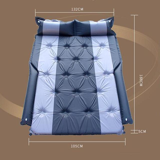 Car Air Mattress Bed With Pump