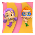 "Bubble Guppies Two Side Printing Cotton Linen DIY Soft Cushion Case 17.7""X17.7""(45 X 45CM)"