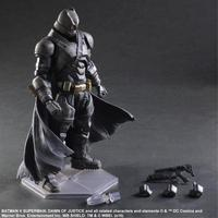 Batman Action Figures Play Arts Kai Batman v Superman Dawn of Justice Anime Collectible Model Toy Heavily armored Playarts Kai