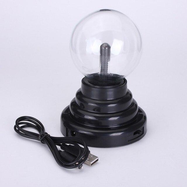 3 Inch Kinderen Elektrostatische Inductie Plasma Ball Crystal ...