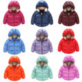 HOT Sale Child Winter Kids Boys Girls Warm Down Snowsuit Hooded Warm Coat Jacket Outwear 9 Colors