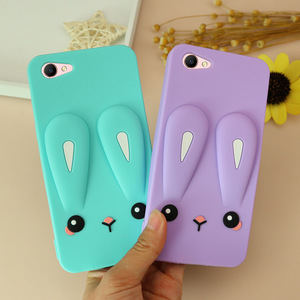 Image 2 - Shockproof silicone Phone case for oppoA3 phone cover for A7X A7 A83 F7 fashion plain phone housing Dirt resistant Anti knock