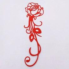 DUOFEN 2019 New Rose flower metal Cutting Dies Stencils for DIY Scrapbooking stamping Die Cuts Paper Cards craft knurling dies