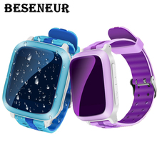 DS18 Kids Smart Watch Child GPS Watch Phone Sim Card Locator Tracker Anti-Lost Wristwatch for iOS Android Children Positioning