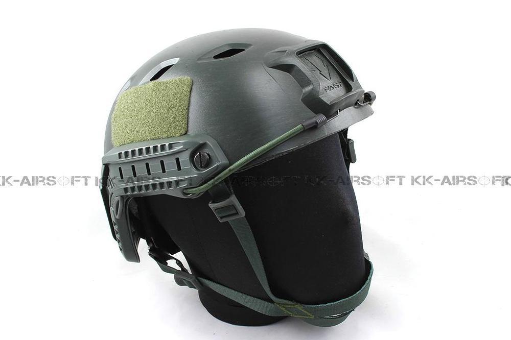 Страйкбол Быстрый шлем для бейсджампинга(Листва Зеленый