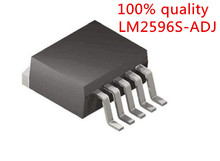 Free shipping 10PCS LM2596S-ADJ LM2596S ADJ LM2596 TO-263-5 The new quality is very good work 100% of the IC chip