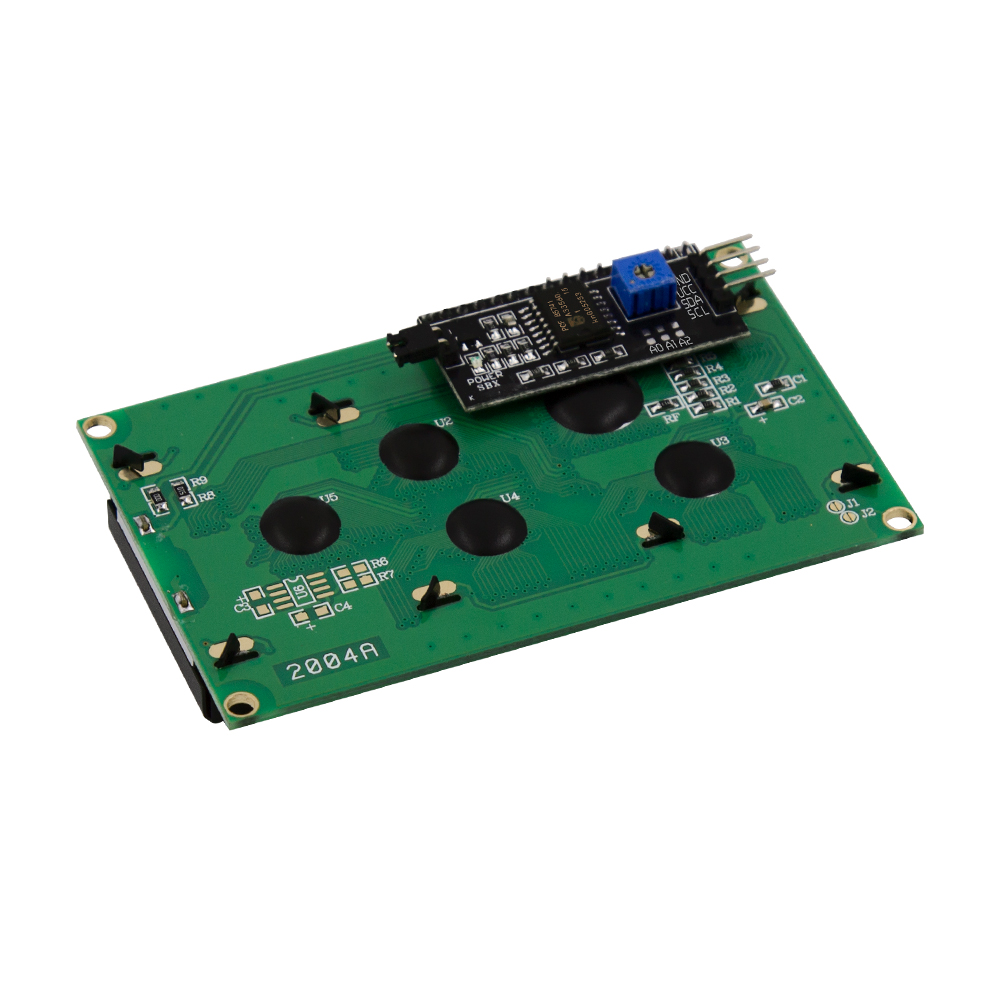IIC/I2C/TWI 2004 Módulo Serial LCD Luminoso Azul para Arduino UNO R3 MEGA2560 20X4 2004