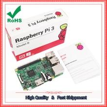 Wholesale 2016 new raspberry 3 generation B Raspberry Pi Model 3 B onboard wifi and bluetooth