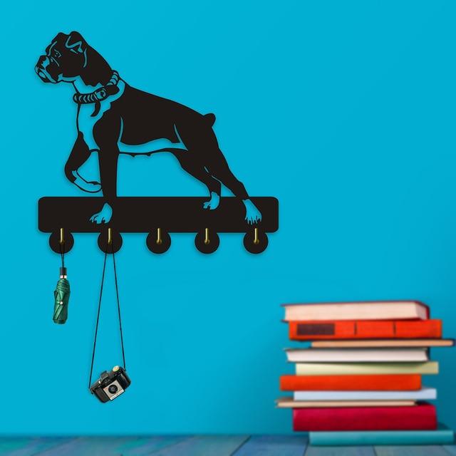 Aliexpress.com : Buy 1Piece Boxer Dog Household Decor Wall Hooks ...