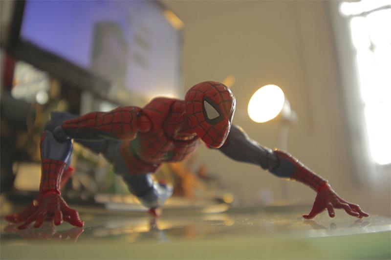 FIGMA Series NO.003 Revoltech Venom No.002 Spiderman No.001 Deadpool With Bracket PVC Action Figure Collection Model Toy 15cm (11)