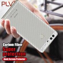 PLV Carbon Fiber 3D Soft Film For Huawei P8 P9 P10 P9 Plus Film Clear Scratch-protection Back Film For Huawei P8 lite P9 lite
