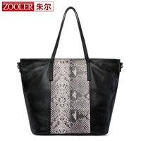 ZOOLER 2017 Women Crocodile Bag 100 Genuine Leather Women Bag Handbag Hot Selling Casual Tote Women