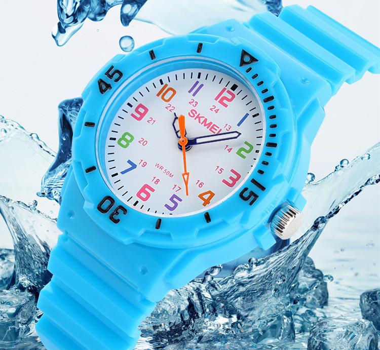 Prix pour Enfants Montre De Mode Skmei Marque Montres Quartz Montres De Gelée Imperméable Enfants Horloge Garçons Filles Étudiants montres