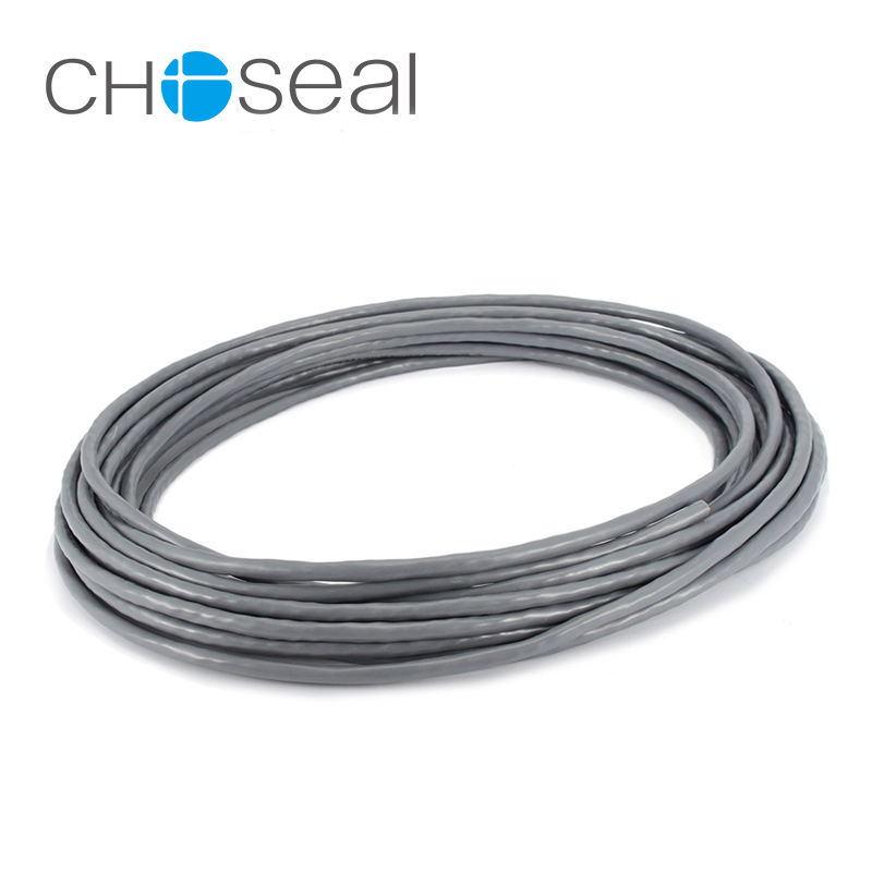 choseal qs6151a ethernet network cable cat5e 100mbps oxygen-free copper  twisted pair wire for home network engineering wiring