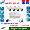 4CH Cctv 2 0mp 1080P IP POE Camera 4 Channel 1080p NVR System Support POE NVR