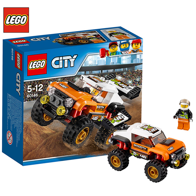 Lego City Series Wheel Stunt Truck Fun Building Blocks ...