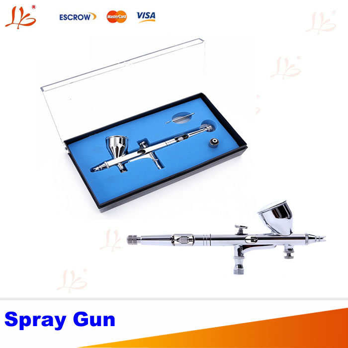 HD-180 0.2mm Gravity Feed Dual-Action Airbrush Paint Spray Gun For Artwork/ Nail art beauty/Design painting hd 2 hvlp devilbiss spray gun gravity feed for all auto paint topcoat and touch up with 600cc plastic paint cup