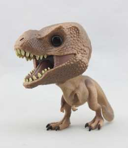 Funko Model-Toy World-Tyrannosaurus Action-Figure Collectible Imperfect No-Box Secondhand