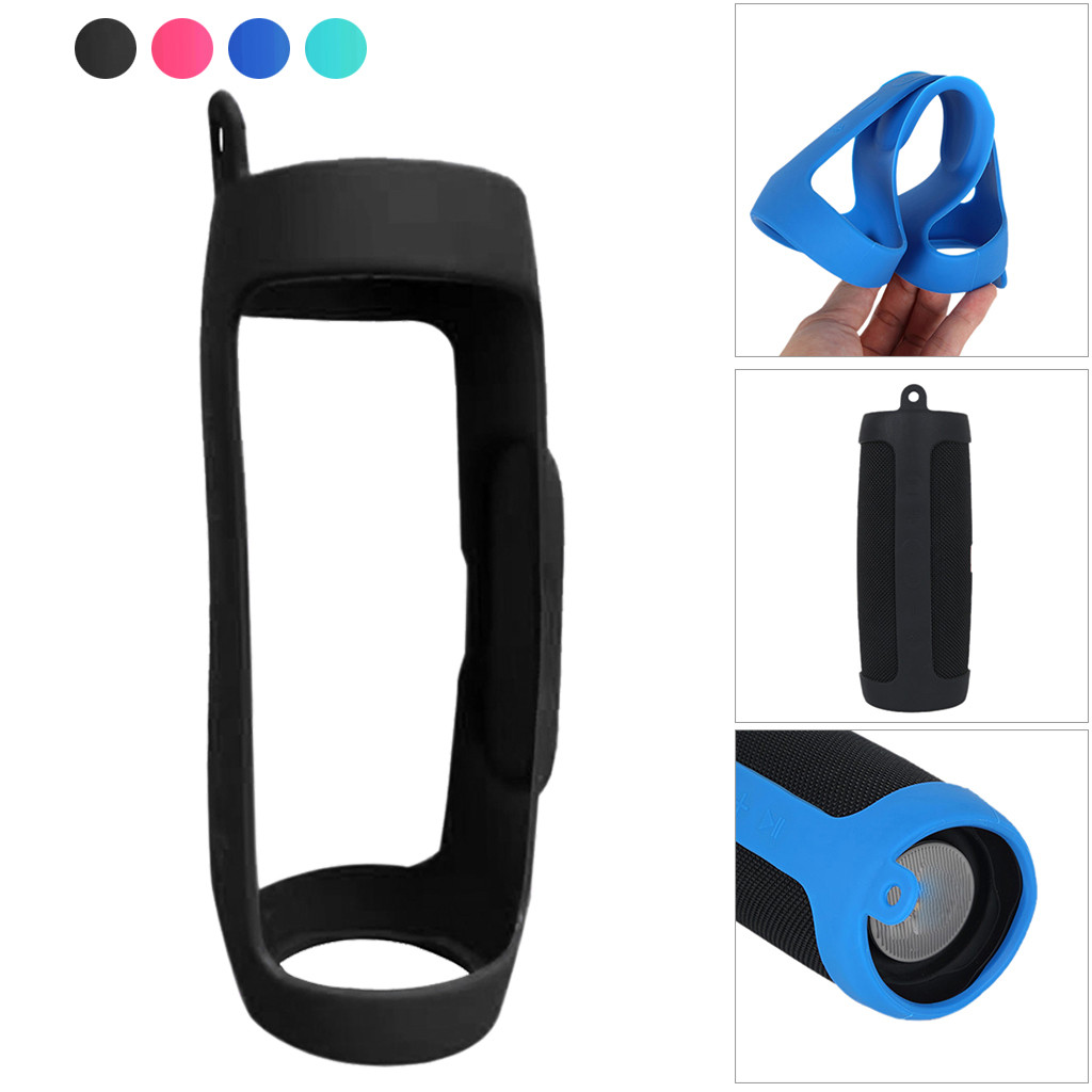 New For JBL Charge4 Bluetooth Speaker Portable Mountaineering Silicone Case 12.10