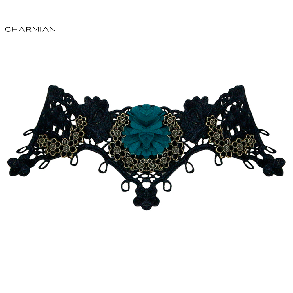 Charmian Handmade Royal Court Vampire Choker Gothic Necklace Accessories