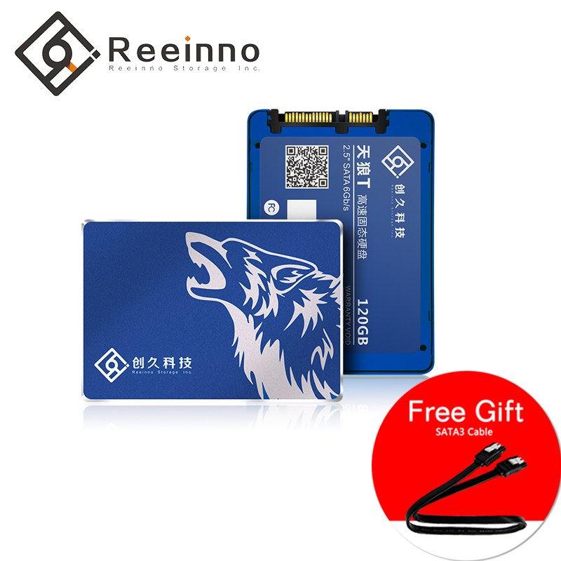 SSD 120GB 240GB 480GB 960GB SATA3 2.5inch High speed 3D NAND flash  Solid State Disk factory directly for Laptop Desktop Reeinno-in Internal Solid State Drives from Computer & Office    1