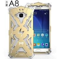 Samsung Galaxy için A8 Durumda Orijinal Simon Marka Thor Serisi DEMIR ADAM Metal Alüminyum Kabuk Kapak Lüks Ağır Telefon kılıfları