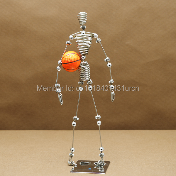 N4 / N4S BASKETBALL PLAYER STANDS / GOAL POSTS SOUVENIR PUPPET / MANIKIN MANNEQUIN TOY / MODEL WEDDING & BIRTHDAY & DOMŮ & KANCELÁŘ