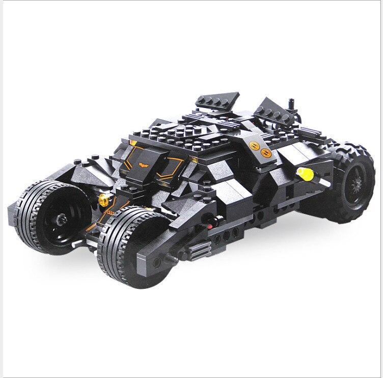 Compatible legoing 76023 super Heroes Batman car Decool technic 7105 Tumbler Batman car Building Blocks legoing avengers bantmam детская игрушка decool 7105