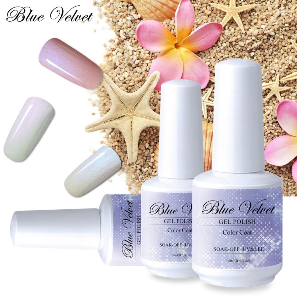 Aliexpress.com : Buy Blue Velvet 10ml Pearl Series Gel