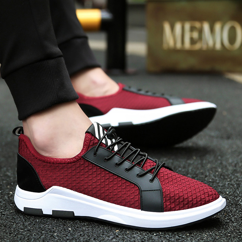 The British Men Sports Shoes Net Male Sneaker Cloth Shoes NETAllmatch Network Shoes Flat England Running Shoes New Summer