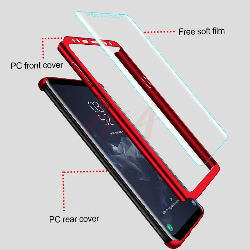 Full Cover Phone Case For Samsung Galaxy 1