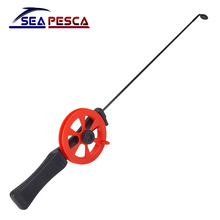 SEAPESCA Winter Ice Fishing Rod Portable Outdoor Fishing Pole with Reels Sport Ultra-light Fishing Tackle Combination JK467