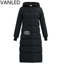 2017 female long section of the new fashion warm winter jacket