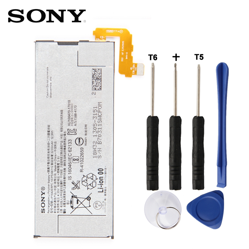 Original SONY <font><b>Battery</b></font> LIP1642ERPC For SONY <font><b>Xperia</b></font> <font><b>XZ</b></font> Premium G8142 3230mAh Authentic Phone Replacement <font><b>Battery</b></font> image