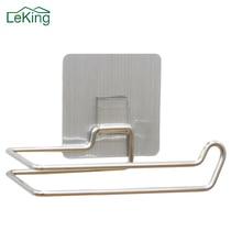 LeKing держатель для туалетной бумаги из нержавеющей стали, многоразовые моющиеся крючки для туалетной бумаги, аксессуары для хранения ванной комнаты
