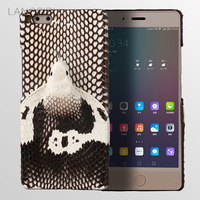 LANGSIDI Brand Phone Case Real Snake Head Back Cover Phone Shell For Smartisan Pro Full Manual