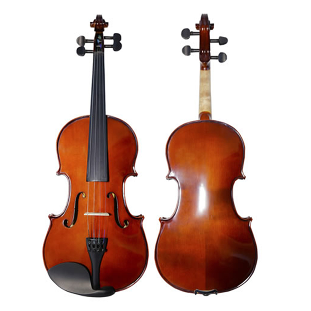 Matte Acoustic Violin Maple Students Violino Fiddle Stringed Instrument with Full Accessories TONGLING Brand handmade new solid maple wood brown acoustic violin violino 4 4 electric violin case bow included