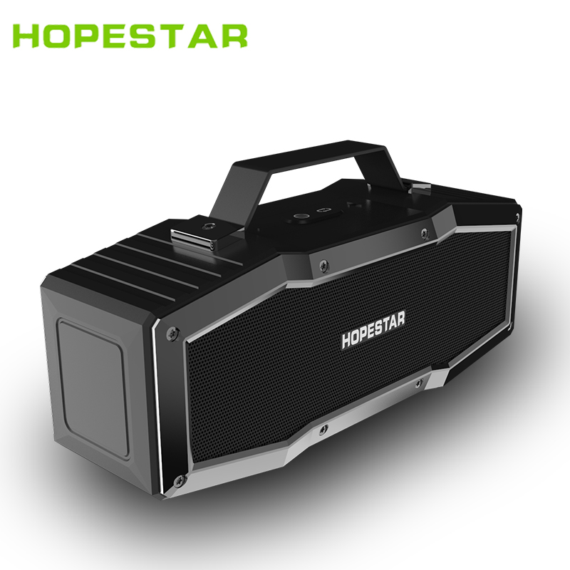 лучшая цена HOPESTAR A9 IPX6 Waterproof Bluetooth Speaker Outdoor Portable Wireless Loudspeaker Sound System 3D Stereo Music Surround