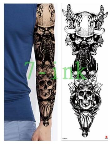 b549b8c57 Buy demon skull tattoo and get free shipping on AliExpress.com