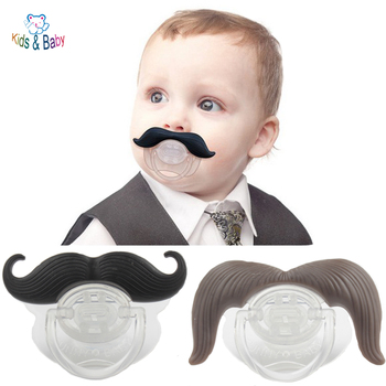Silicone Funny Baby Pacifier Dummy Nipple Teethers Toddler Pacy Orthodontic Teat Infant Baby Christmas Gift 1pc