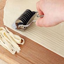 Инструмент для выпечки из нержавеющей стали лапша шаллот Spaetzle для кухонной ручной нескользящей ручки пресс-машина нож для резки лапши