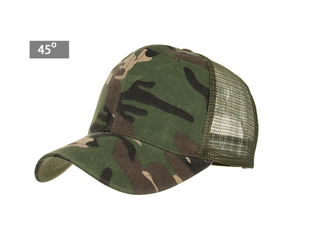 7cd336fec2bdb Camouflage Mesh Trucker Cap for Men - Camo Plain Mesh Trucker Hat ...
