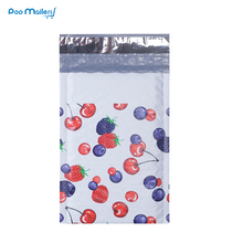 10pcs Poly Bubble Mailers 120*180mm Envelopes Cherry blueberry mulberry Pattern Lined Mailer