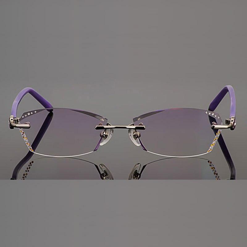 B002 бриллиантты сәнді көзілдірік, - Киімге арналған аксессуарлар - фото 3