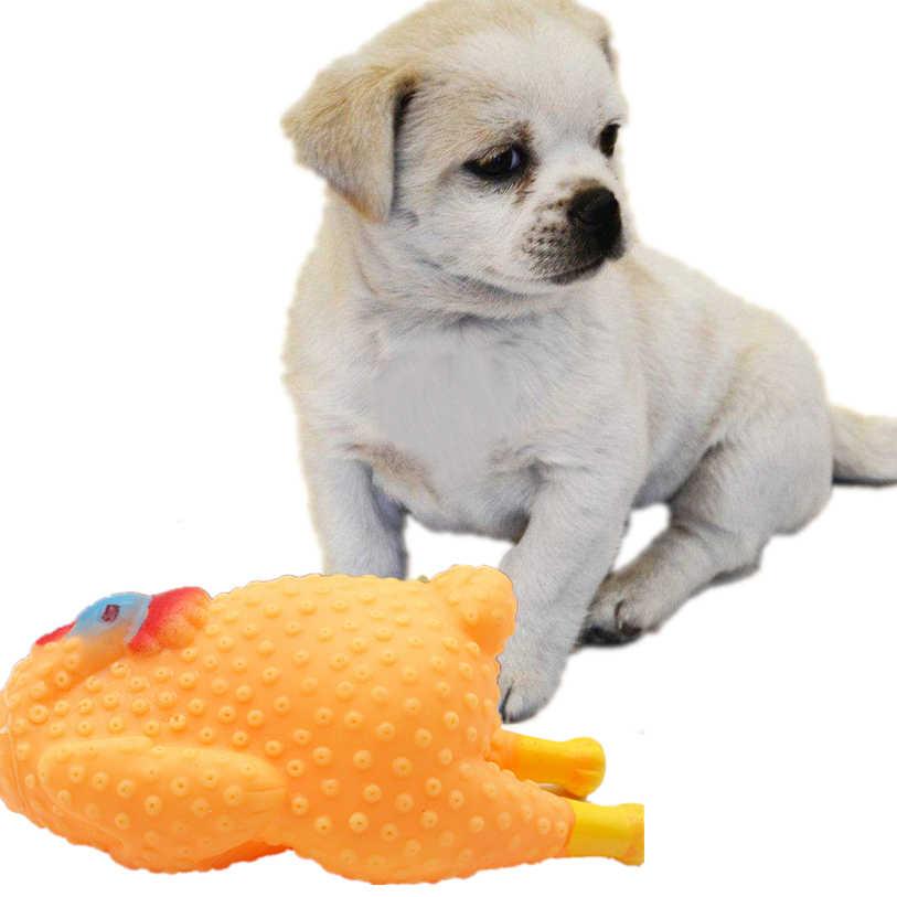 面白いローストチキンペット Squeak のおもちゃゴムサウンド犬のおもちゃ小大犬猫子犬咀嚼のおもちゃ卸売 # F #40SP03