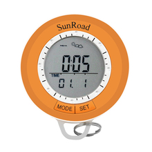 SUNROAD SR108S Min Hiking Computer Sport Men Watch-Pedometer Altimeter Thermometer Compass Weather Forecast Pocket Watch
